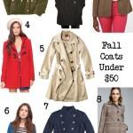 Need It   Fall Coats Under $50