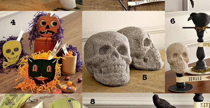 On Sale | Halloween Items from West Elm
