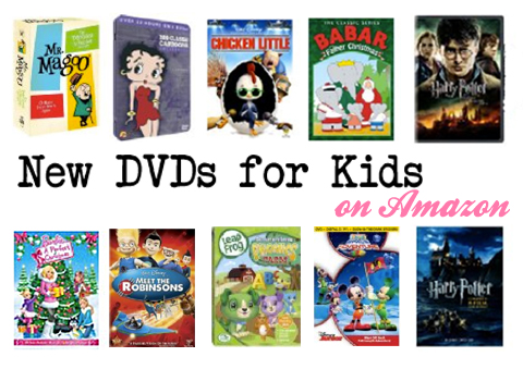 New DVDs for Kids on Amazon