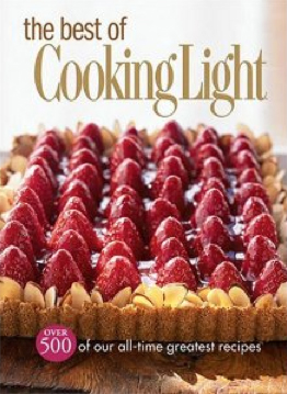 Best of Cooking Light One Cent Book