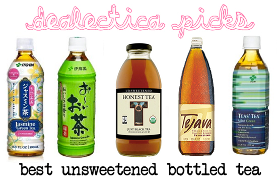 Best Unsweetened Bottled Tea