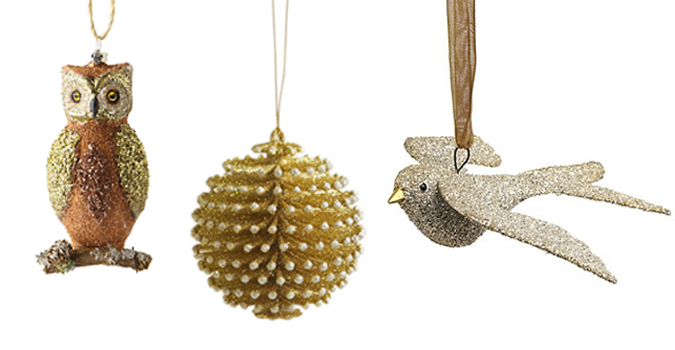 Holiday Countdown | Glittery Christmas Ornaments