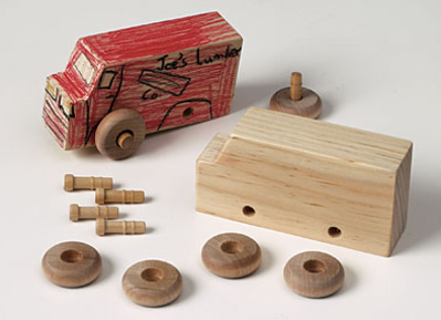 Heartsy | Up to 50% Off Maple Landmark Wooden Toys