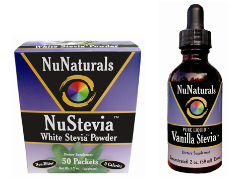 Giveaway | Win One of Four NuNaturals Stevia Prize Packs + NuNaturals Coupon Code