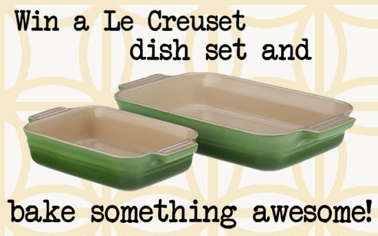 Giveaway | Win a Le Creuset Dish Set on The Type A Housewife