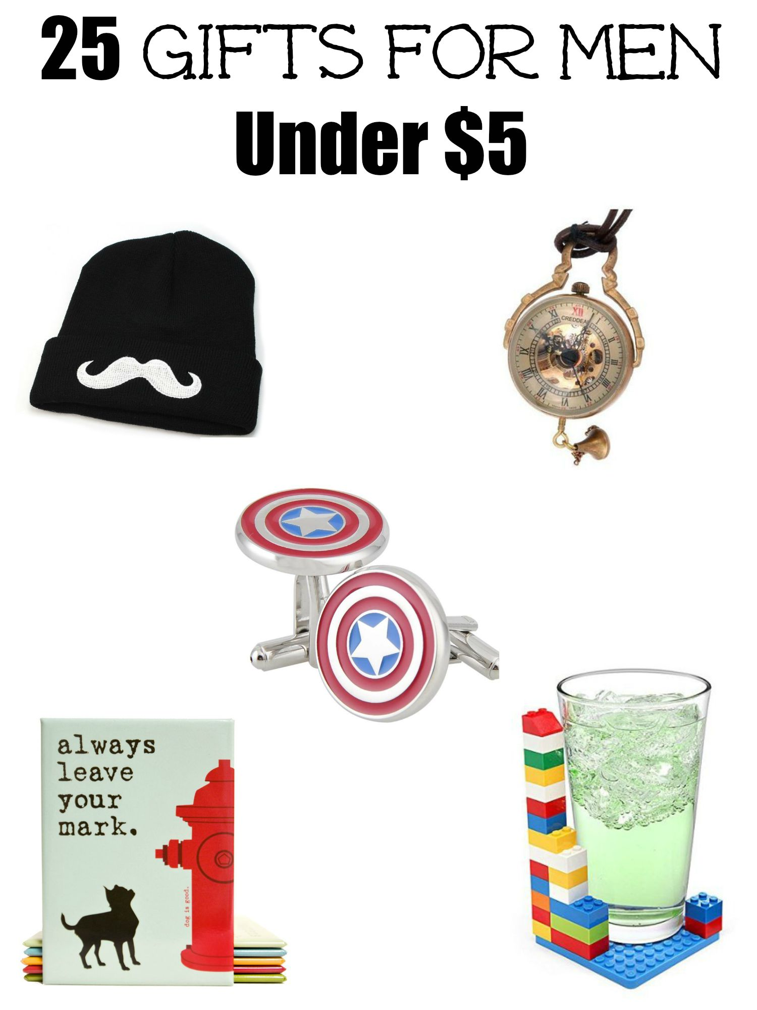 25 Gifts For Men Under $5