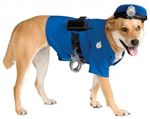 Police Officer Dog Costume