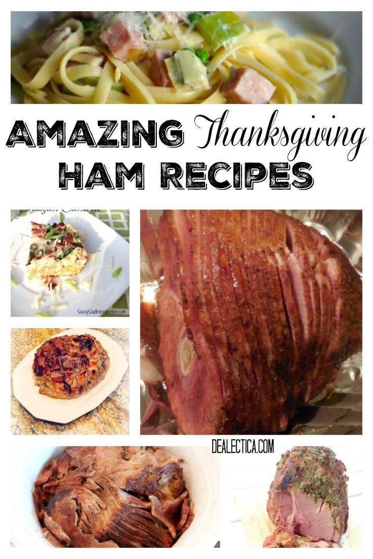 Amazing Thanksgiving Ham Recipes