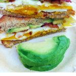 Delicious | Bacon Avocado & Egg Sandwich Recipe