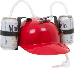 Beer Guzzler Helmet