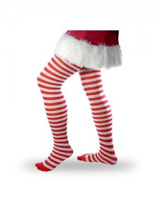Candy Cane Striped Tight