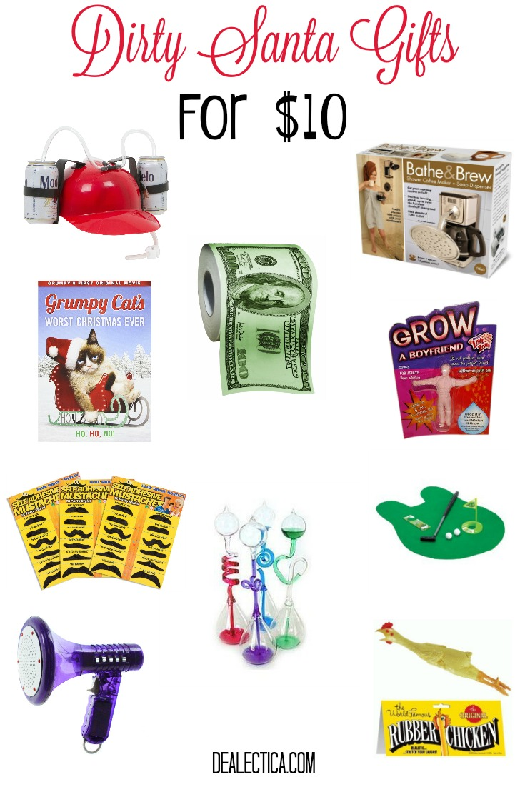 Dirty Santa Gifts For $10