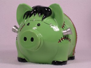 Frankenstein Piggy Bank