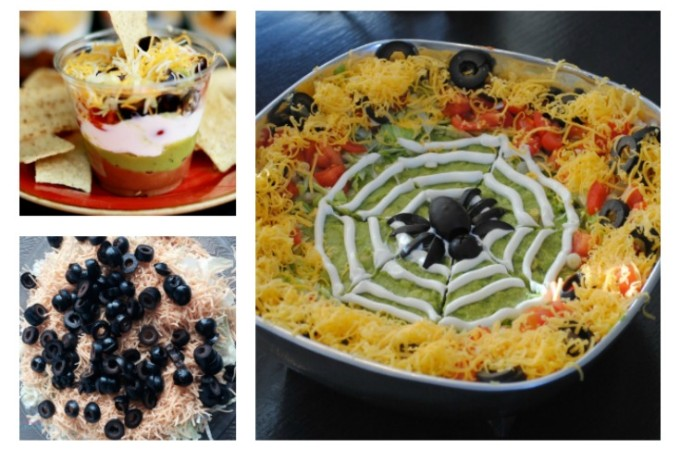 Halloween 7 Layer Dip Recipes