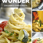 One Pot Wonder Zucchini and Garlic Pasta