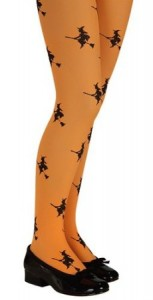 Orange Witch Tights