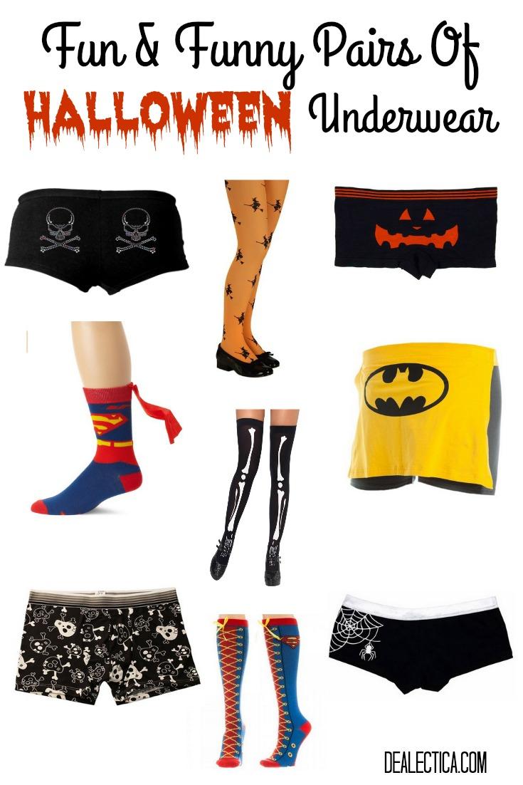 Pairs Of Halloween Underwear