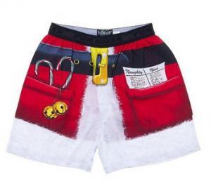 Santa Suit Christmas Boxers