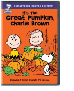 The Great Pumpkin Charlie Brown DVD